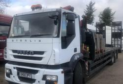 IVECO<br>Stralis 260S31 26 ton crane with beavertail