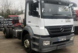 mercedes<br>2529 6x2 Axor Rigid