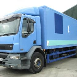 DAF LF 55-220 18 ton boxvan Manual