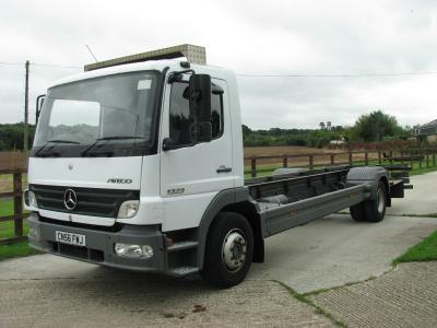 Mercedes 1323 13 ton 25ft Chassis Cab